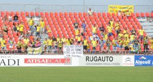 Muchos cadistas acudieron a ver al equipo amarillo en Anduva otras temporadas.