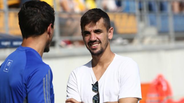 Carlos Calvo volverá al Cádiz CF a final de temporada.