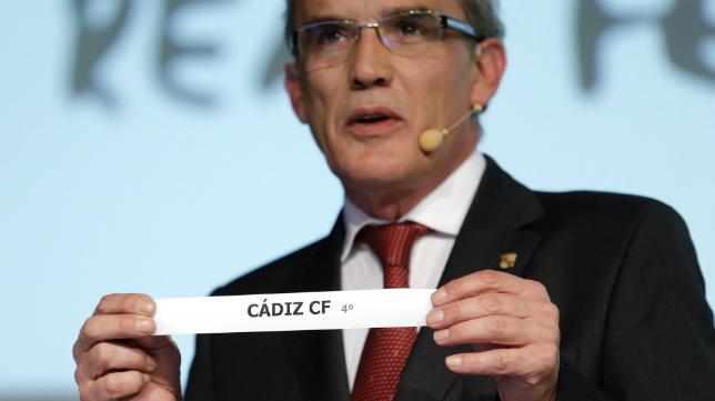 El Cádiz CF ya conoce el nombre de su rival en la segunda ronda en la Copa del Rey.