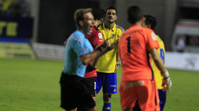 Güiza discutió con jugadores del Mallorca.