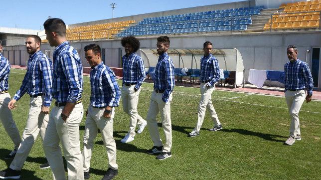La firma Spagnolo viste esta temporada al Cádiz CF.