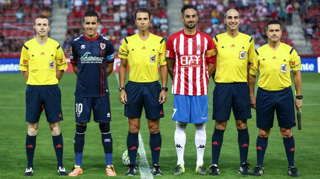 Cordero Vega pitó al Cádiz en Vallecas.