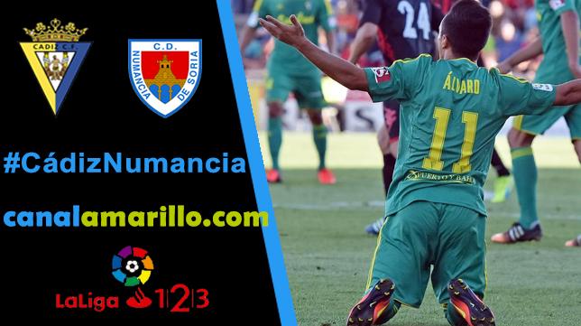 El Cádiz CF necesita ganar al Numancia en Carranza