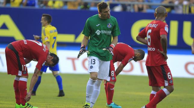 El Getafe salió goleado de Carranza.
