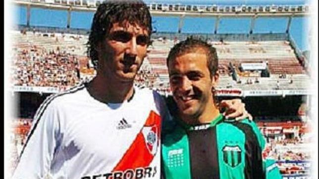 Gonzalo y Federico Higuain coincidieron en la liga argentina.