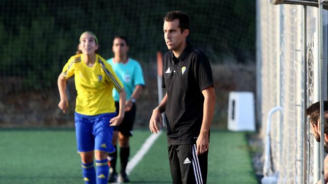 Emilio Soler, entrenador del Cádiz CF Femenino