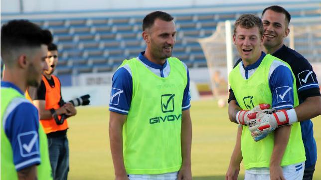 Despotovic juega ahora en las filas del Marbella
