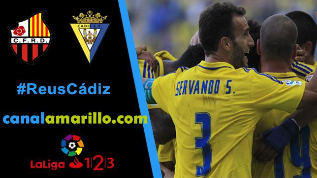 El Cádiz CF busca su segunda victoria ante el Reus