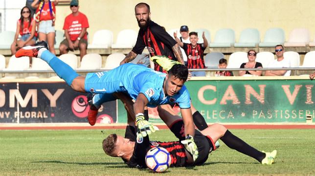 El Reus ha empatado sus dos partidos en casa ante Mirandés y Numancia, ambos 1-1.