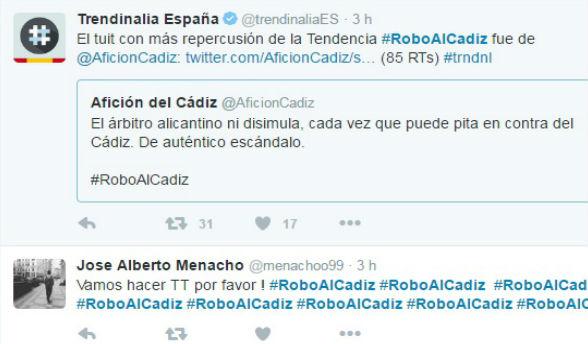 #roboalCádiz