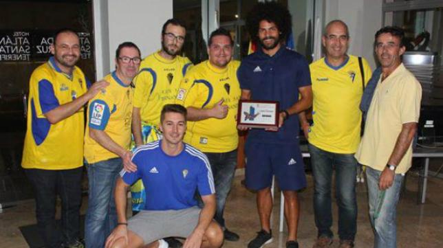 Aridane fue homenajeado por los cadistas de Tenerife
