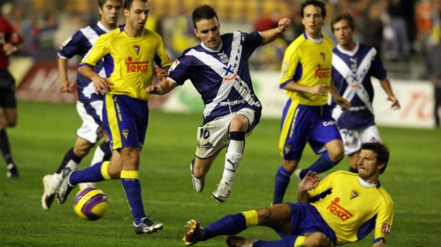 Imagen del último duelo entre Tenerife y Cádiz CF (Foto: CD Tenerife)