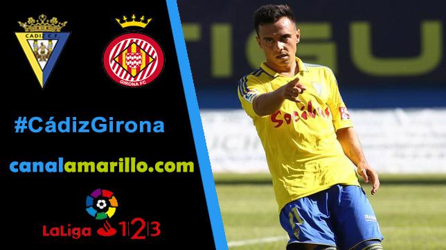 El Cádiz CF necesita los tres puntos ante el Girona
