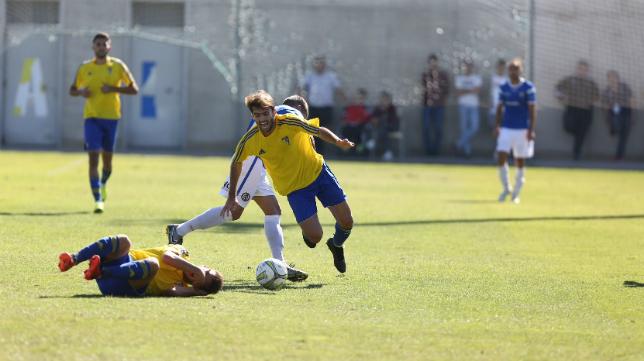 El Cádiz CF B, líder de la categoría.