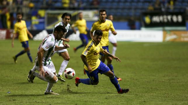 Imagen del partido de Copa del Rey disputado en Carranza esta temporada.