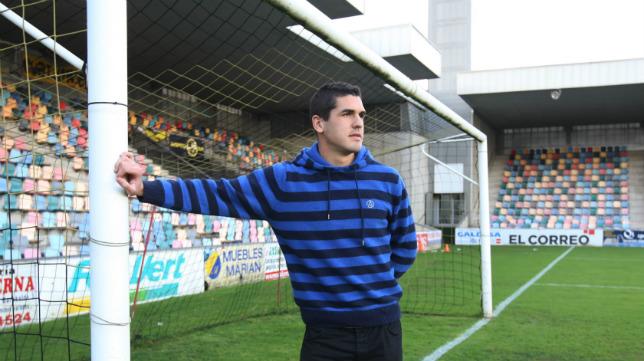 Garrido llegó al Cádiz CF en enero de 2014 procedente del Barakaldo.