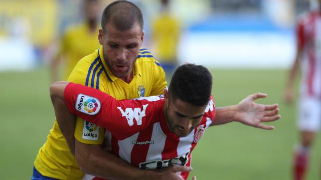 Cádiz CF y Girona, dos de los favoritos para disputar el 'play off' de ascenso.