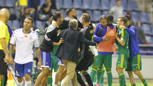 El Cádiz CF supo empatar en Tenerife.
