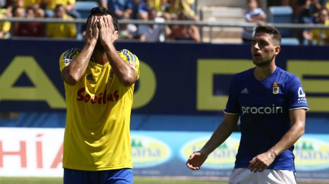 El equipo empezó a flaquear ante el Oviedo.