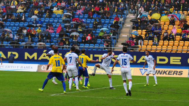 El Cádiz CF sigue en la zona de descenso por tercera semana consecutiva