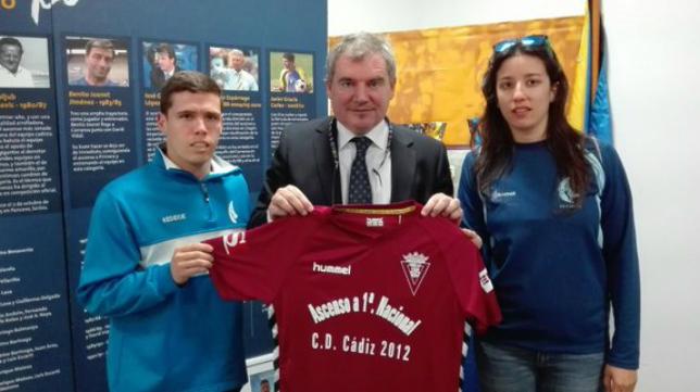 El CD Cádiz 2012 también formará parte del proyecto cadista. Foto: CD Cádiz 2012 (Imagen de archivo).