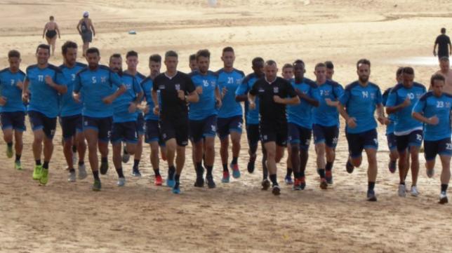 Martí ha convocados a todos sus jugadores disponibles. Foto: CD Tenerife