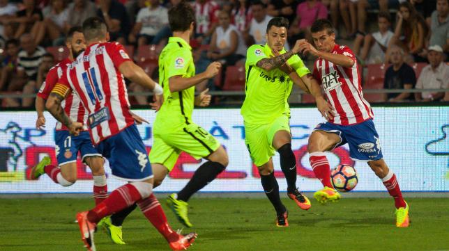 El Girona FC es un equipo muy trabajado, con el soriano Pablo Machín al frente del banquillo