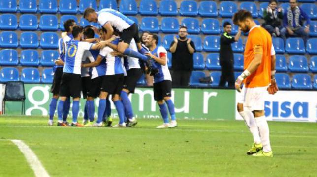 El Hércules pasa a los 1/16 de final de la Copa del Rey y jugará ante un rival que juega en Europa