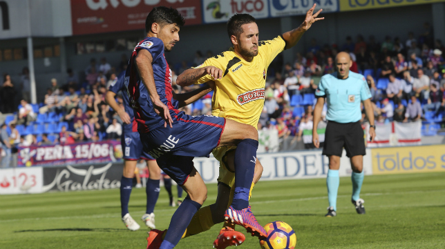 El Huesca está completando una gran temporada.