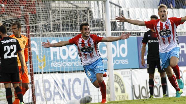 Joselu fue el máximo goleador de Segunda con el CD Lugo.