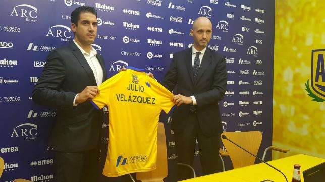 Julio Velázquez, entrenador del Alcorcón. Foto: AD Alcorcón