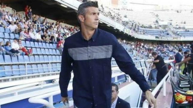 José Luis Martí, entrenador del CD Tenerife.