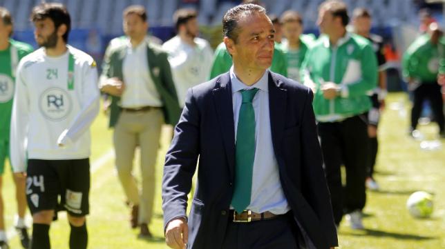 José Luis Oltra, exentrenador del Córdoba.