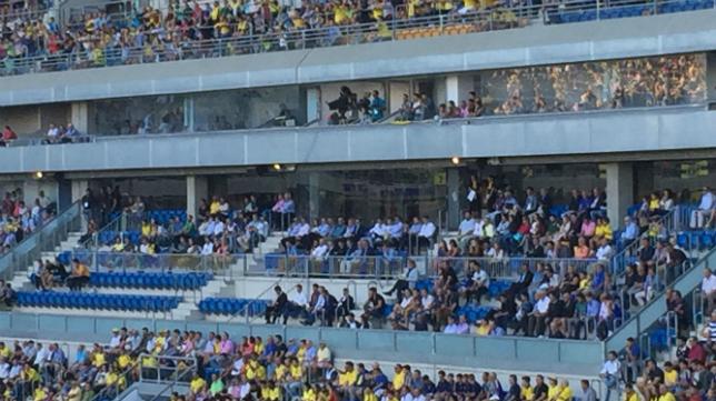 Nueva imagen del palco del Estadio Carranza