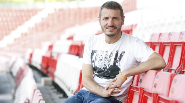 Quique Cárcel afronta su tercera temporada como director deportivo del Girona