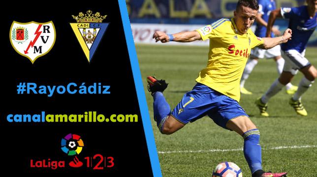El Cádiz CF busca los tres puntos en Vallecas