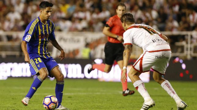 Cordero Vega arbitró el Rayo Vallecano-Cádiz CF.