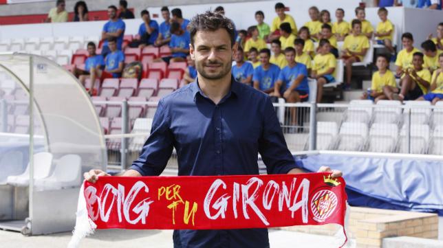 René, un gaditano que juega en el Girona