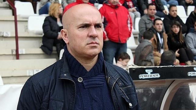 Luis César Sampedro, entrenador del CD Lugo.