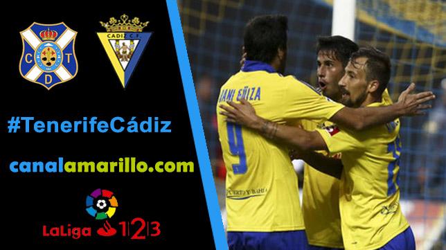 El Cádiz CF busca su primera victoria a domicilio en Tenerife
