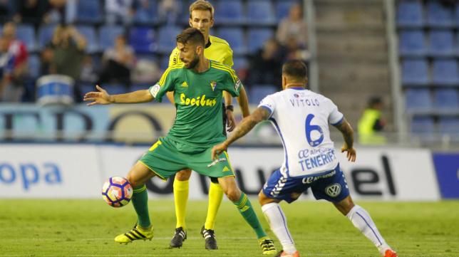 Imágenes del partido de la primera vuelta en Tenerife.