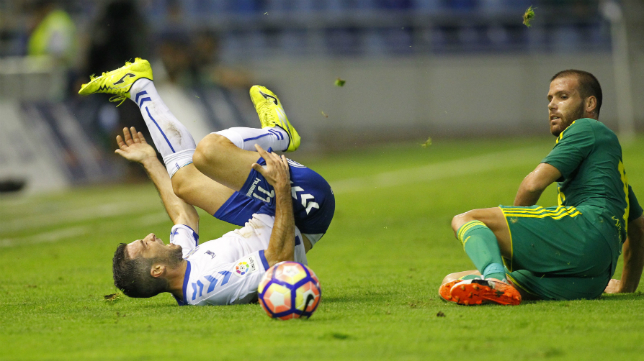 El Cádiz CF sumó un punto en Tenerife.