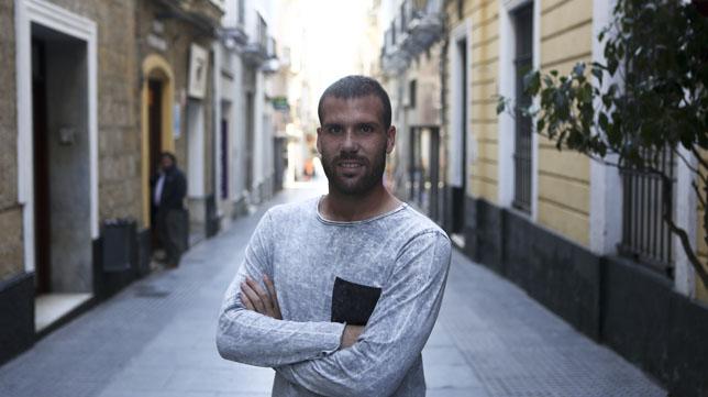Alfredo Ortuño, el pichichi del Cádiz CF.
