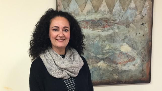 Lourdes Marín, alcaldesa de Gibraleón.