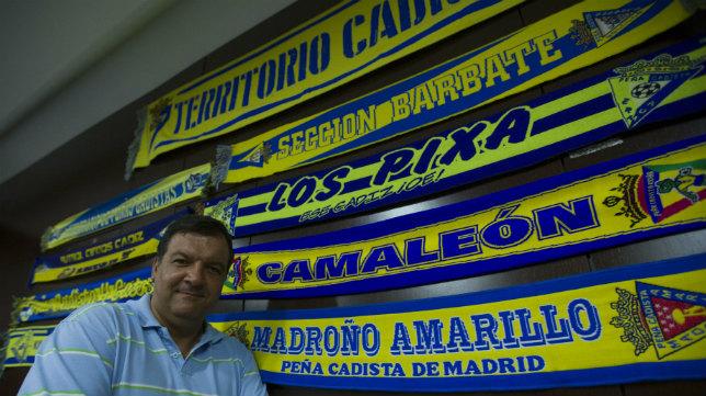 Fernando Arévalo es el actual presidente de las Peñas Cadistas.