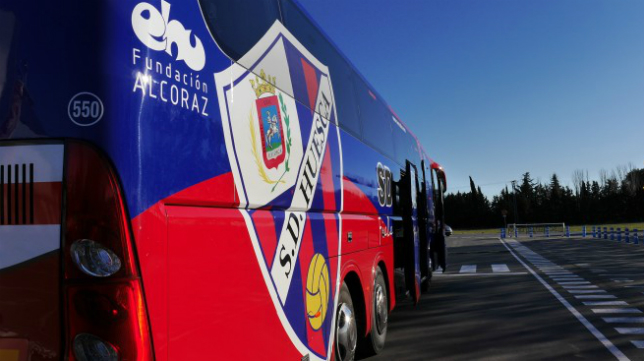 El Huesca ya tiene organizado su plan de viaje a Cádiz
