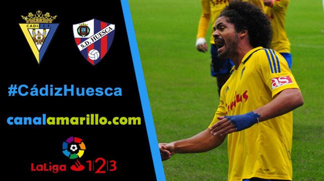 Los tres puntos, gran objetivo del Cádiz CF ante el Huesca