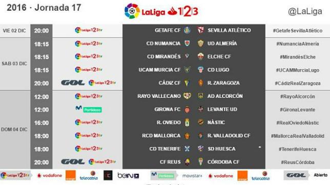 El Cádiz CF-Zaragoza se verá en abierto.