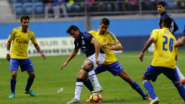 El partido del curso pasado en Carranza lo ganó el Cádiz CF.