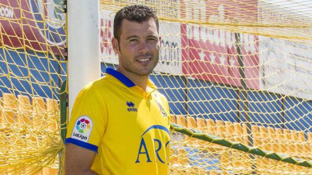 David Navarro llegó al Alcorcón este verano pasado.